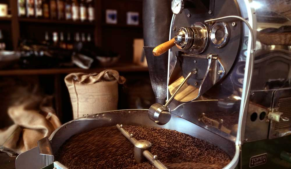 Twiggs Coffee - Roasting Process