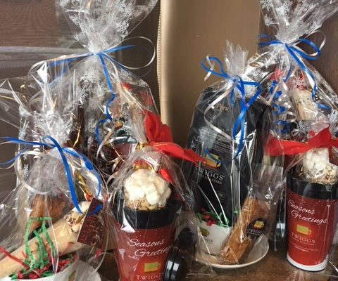 Gift Baskets, christmas
