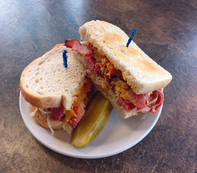 reuben sandwich, friday special, sweet mustard