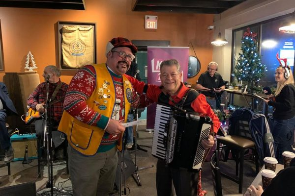 Twiggs Hosts Carmine Ricciuti Christmas Special - North Bay Santa Fund 2019